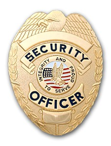 SECURITY OFFICER GOLD EAGLE